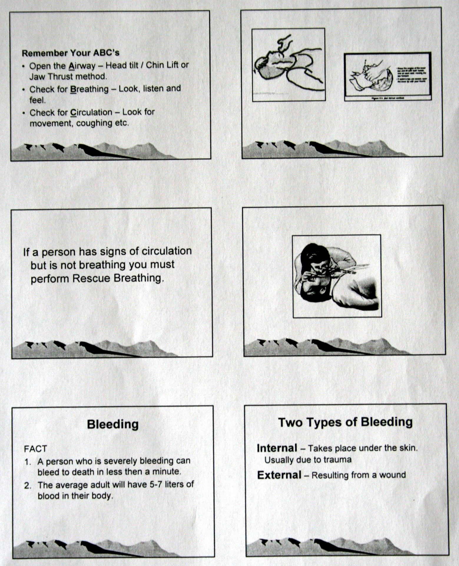 First Aid Page 2